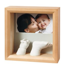 Baby Art My baby sculpture frame Honey