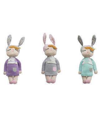 Miniroom Kanindocka kleintjes (set van 3)