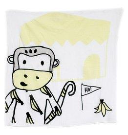 Kippins Splits Kippintale™ big muslin wrap en snooze blanket with Monkey