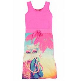 O'Chill Ditta summer dress pink