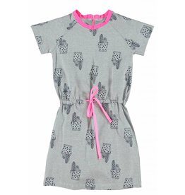 O'Chill Pippa dress with cactus print