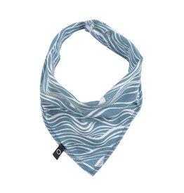 Noeser Bandana bib wave blue