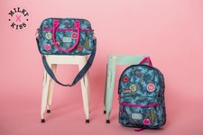 Backpacks, shoulder bags, school bags and trolleys for children