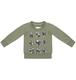 Little Indians Sweater Adventure Loden Green