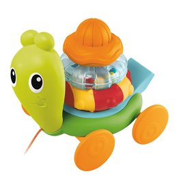 B Kids Senso Pull Along Stacking Snail