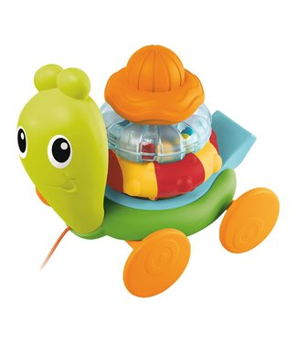 B Kids Senso Pull Along Stacking Snail