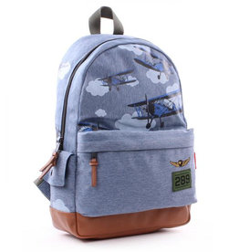 Kidzroom Backpack Amigo Planes blue 39 cm