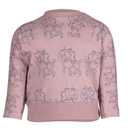 Noeser sweater Belle Batwing Poodle Pink