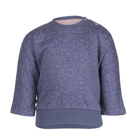 Noeser Sweater Belle Batwing science blue/pink