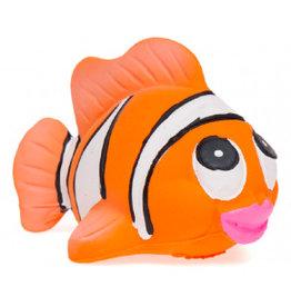 Lanco badspeelgoed rubber clownvis medium
