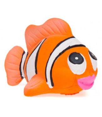 badspeelgoed rubber clownvis medium