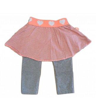 Dirkje rokje met legging Neon Pink