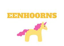 Eenhoorns all over the place