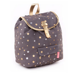 Kidzroom Backpack Gold Rush Dark Grey