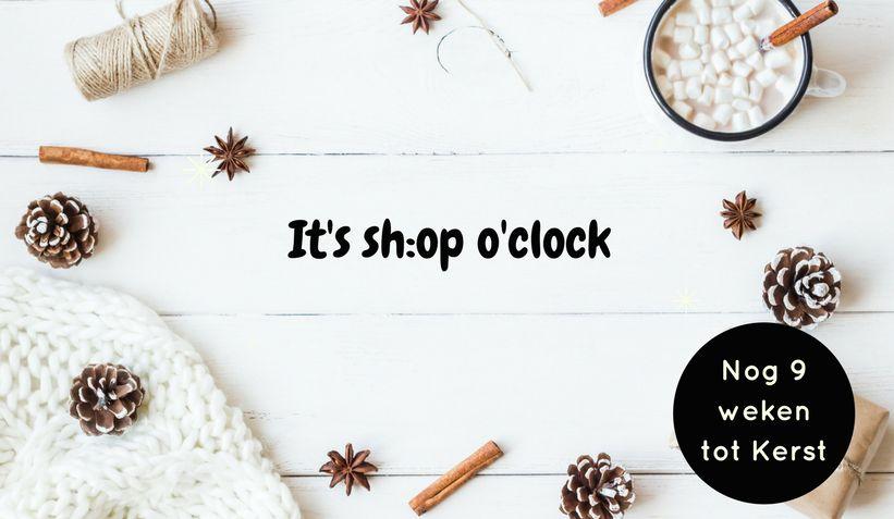 It's sh:op o'clock