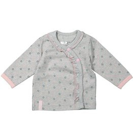 Dirkje T-shirt Grey Stars