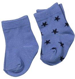 Dirkje set of 2 pair of socks Blue/Black