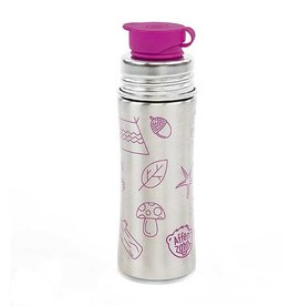 Affenzahn drinking bottle stainless steel 0,33L silicone cap purple