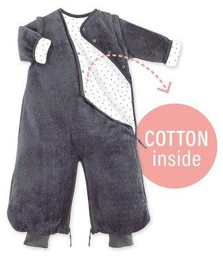 Bemini 3-9 months winter sleeping bag Softy Jersey Dark Gray