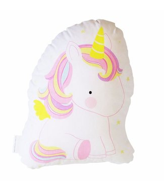 A Little Lovely Company kussentje Unicorn
