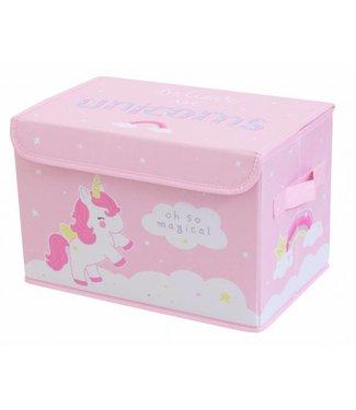 A Little Lovely Company Pop-up opbergbox: Unicorn