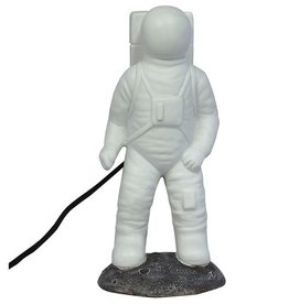House of Disaster astronaut lamp white