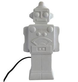 House of Disaster robot lamp white