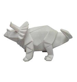 House of Disaster origami led lamp dinosaur white MINI