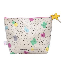 House of Disaster pouch toilet bag kawaii multi