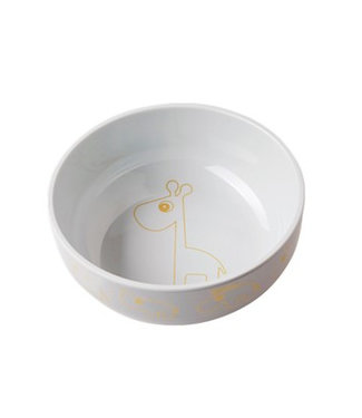 Done by Deer Yummy bowl Contour, gold with gray