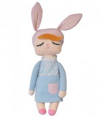 Miniroom Kanindocka doll blue 42 cm