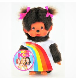 MONCHHICHI 20 cm Girl K3 Rainbow dress