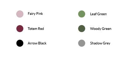 """e11dd85552148f ... warme bordeauxroodtint, """"Totem Red"""". On-trend kleuren als """"Lagune  Sand"""", """"Fairy pink"""" en een dieper groen genaamd """"Woody Green"""", maken een  zomersfris, ..."""