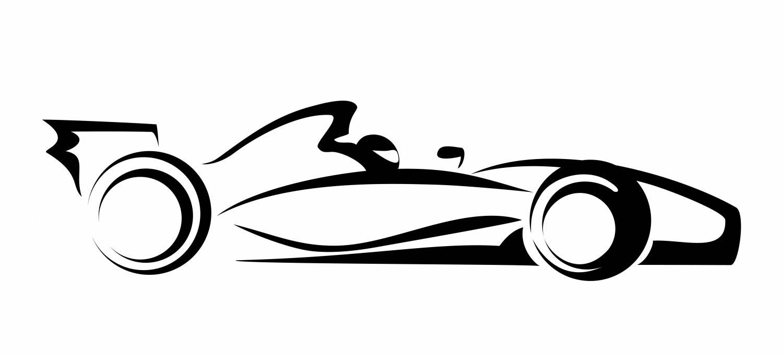 f1 cars drawings easy