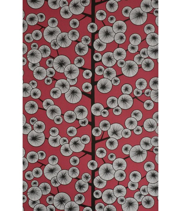 Miss-Print Behang Cotton Tree rood MISP1035