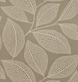Miss-Print Behang Pebble Leaf grijs MISP1040