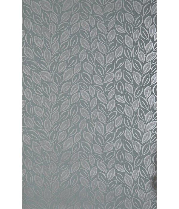 Miss-Print Behang Leaves grijs MISP1029