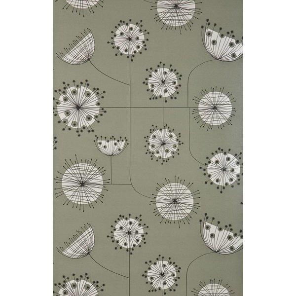 Behang Dandelion Mobile grijsgroen MISP1023