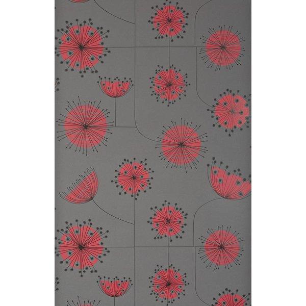 Behang Dandelion Mobile grijs MISP1025