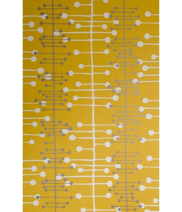Miss-Print Behang Muscat geel MISP1019
