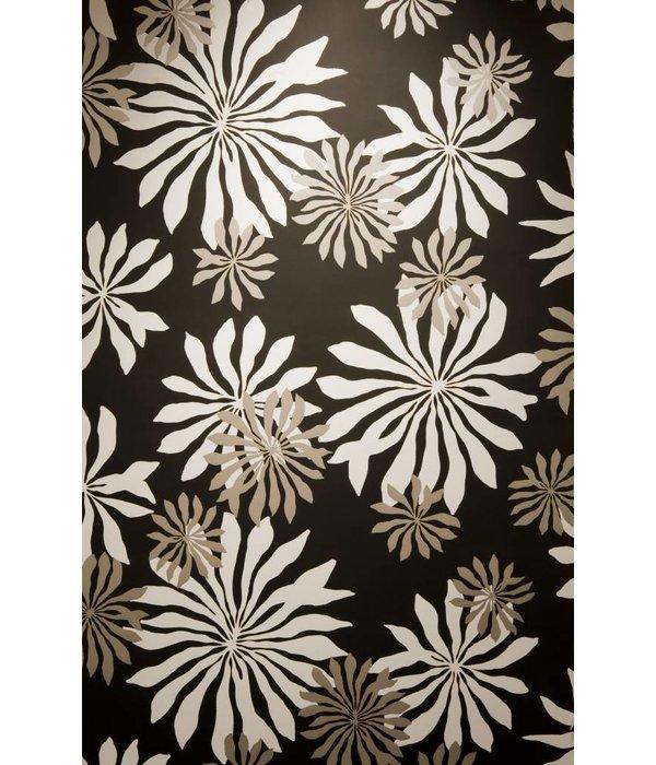 Miss-Print Behang Fleur zwart MISP1014