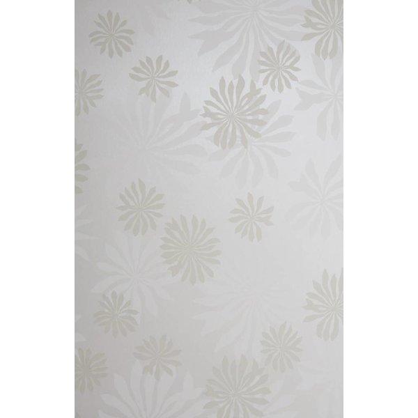 Behang Fleur wit MISP1016