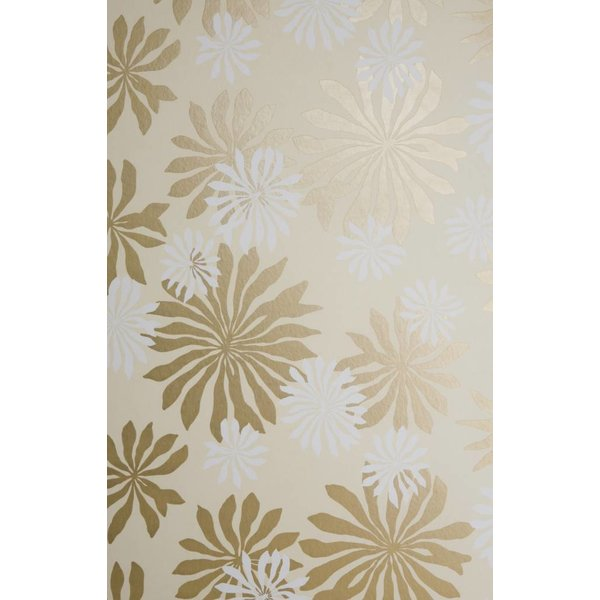 Behang Fleur beige MISP1017