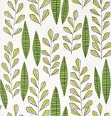 Miss-Print Behang Garden City wit groen MISP1069