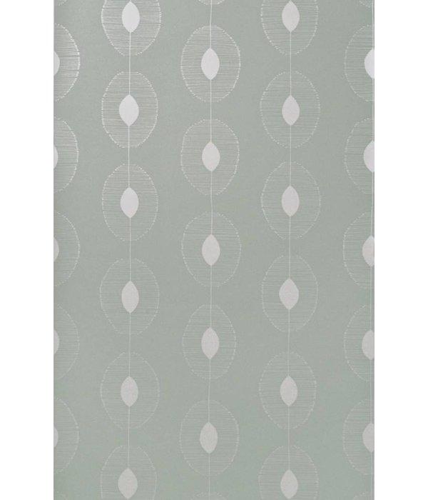 Miss-Print Behang Dewdrops lichtgrijs MISP1086