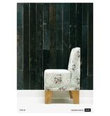 Piet Hein Eek sloophout donker grijs - blauw - zwart PHE-05 Behang