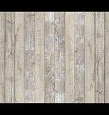 Piet Hein Eek brede planken vaal beige - grijs -wit PHE-07 Behang