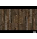 Piet Hein Eek Behang Piet Hein Eek - brede planken donker bruin Wallpaper