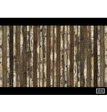 Piet Hein Eek verweerde planken donker bruin naturel wit PHE-13 Behang