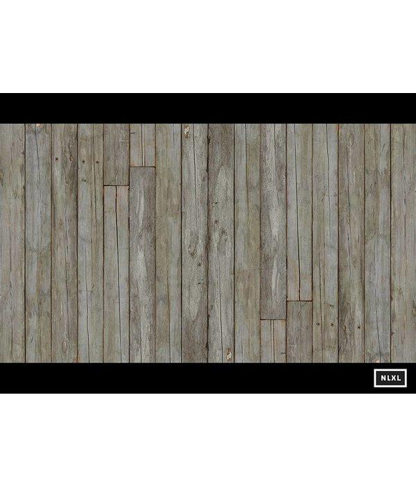 Piet Hein Eek verweerde planken bruin naturel wit PHE-14 Behang